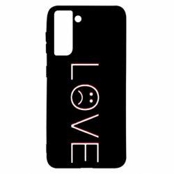 Чохол для Samsung S21 lil peep: love