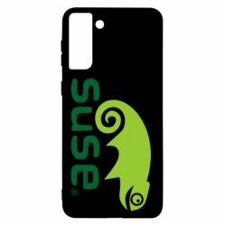 Чехол для Samsung S21+ Linux Suse