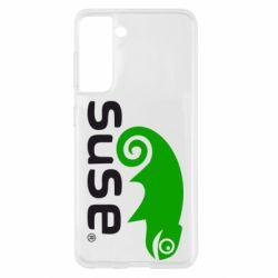 Чехол для Samsung S21 Linux Suse