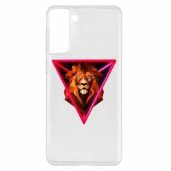 Чохол для Samsung S21+ Lion art