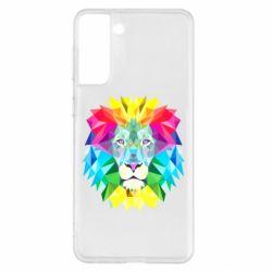 Чехол для Samsung S21+ Lion vector