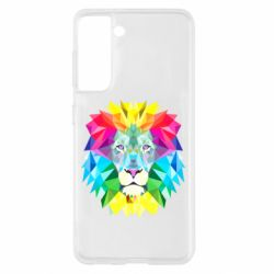 Чохол для Samsung S21 Lion vector