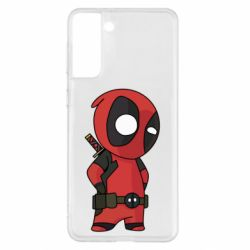 Чохол для Samsung S21+ Little Deadpool