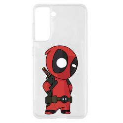 Чохол для Samsung S21 Little Deadpool