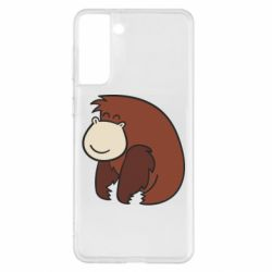 Чехол для Samsung S21+ Little monkey