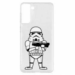 Чохол для Samsung S21+ Little Stormtrooper