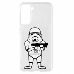 Чохол для Samsung S21 Little Stormtrooper