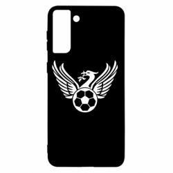 Чохол для Samsung S21+ Liverpool and soccer ball