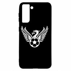 Чохол для Samsung S21 Liverpool and soccer ball