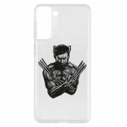 Чохол для Samsung S21+ Logan Wolverine vector