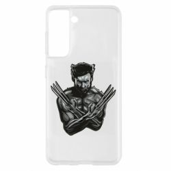 Чохол для Samsung S21 Logan Wolverine vector