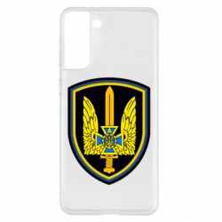 Чехол для Samsung S21+ Логотип Азов