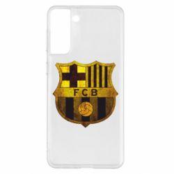 Чохол для Samsung S21+ Логотип Барселони