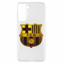 Чохол для Samsung S21 Логотип Барселони