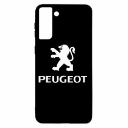 Чехол для Samsung S21+ Логотип Peugeot