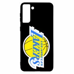Чохол для Samsung S21+ Los Angeles Lakers