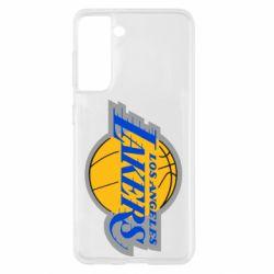 Чохол для Samsung S21 Los Angeles Lakers