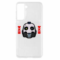Чехол для Samsung S21 Love death and robots