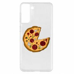 Чохол для Samsung S21+ Love Pizza