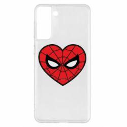 Чохол для Samsung S21+ Love spider man