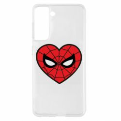 Чохол для Samsung S21 Love spider man