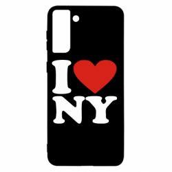 Чохол для Samsung S21+ Люблю Нью Йорк