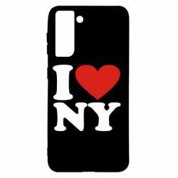 Чохол для Samsung S21 Люблю Нью Йорк