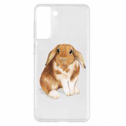 Чохол для Samsung S21+ Маленький кролик