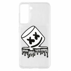 Чохол для Samsung S21 Marshmallow melts