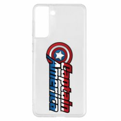 Чохол для Samsung S21+ Marvel Captain America