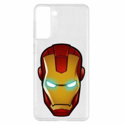 Чехол для Samsung S21+ Маскаа Железного Человека