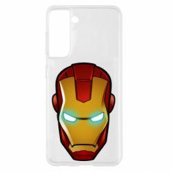 Чехол для Samsung S21 Маскаа Железного Человека