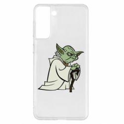 Чехол для Samsung S21+ Master Yoda