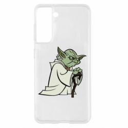 Чехол для Samsung S21 Master Yoda