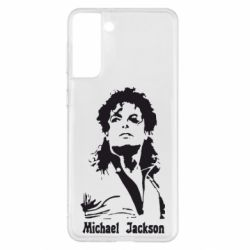 Чохол для Samsung S21+ Майкл Джексон