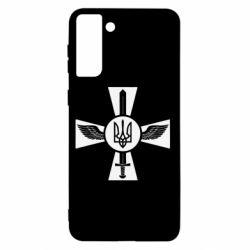 Чехол для Samsung S21+ Меч, крила та герб