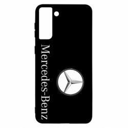 Чехол для Samsung S21+ Mercedes-Benz Logo