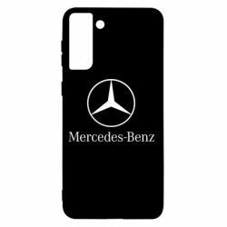 Чехол для Samsung S21+ Mercedes Benz