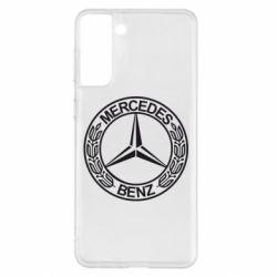 Чохол для Samsung S21+ Mercedes Логотип