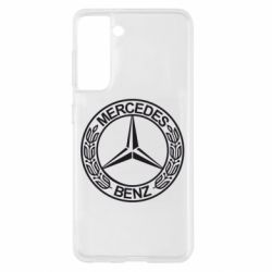Чохол для Samsung S21 Mercedes Логотип