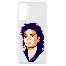Чохол для Samsung S21+ Michael Jackson Graphics Cubism