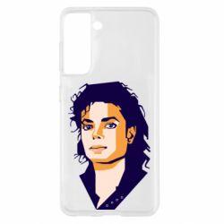 Чохол для Samsung S21 Michael Jackson Graphics Cubism