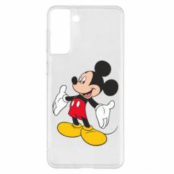 Чохол для Samsung S21+ Mickey Mouse