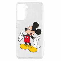 Чохол для Samsung S21 Mickey Mouse