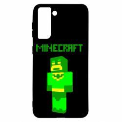 Чохол для Samsung S21 Minecraft Batman