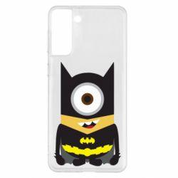 Чохол для Samsung S21+ Minion Batman