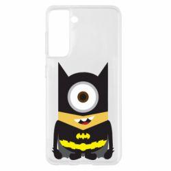 Чохол для Samsung S21 Minion Batman