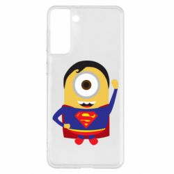 Чохол для Samsung S21+ Minion Superman