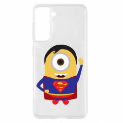 Чохол для Samsung S21 Minion Superman