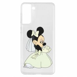 Чехол для Samsung S21+ Minnie Mouse Bride
